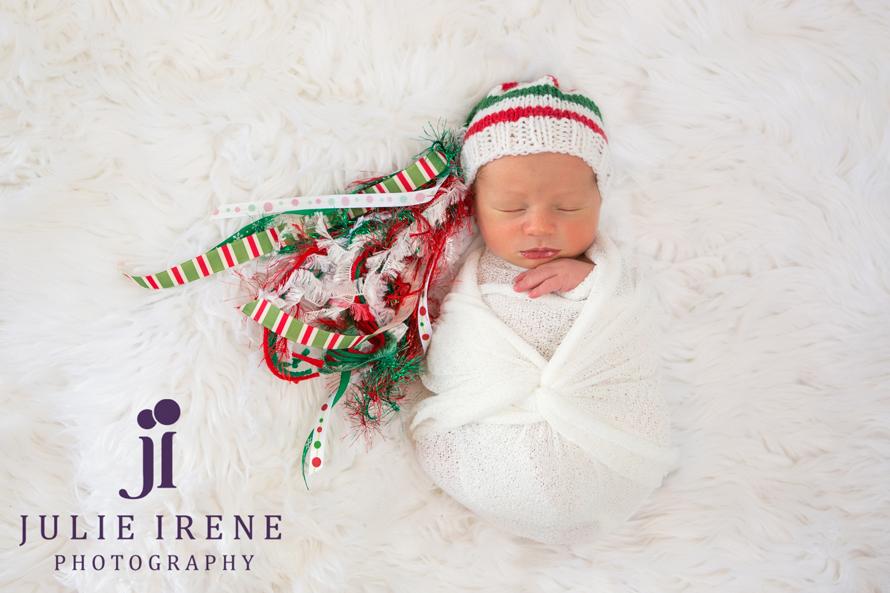 San Clemente Newborn Photographer Christmas