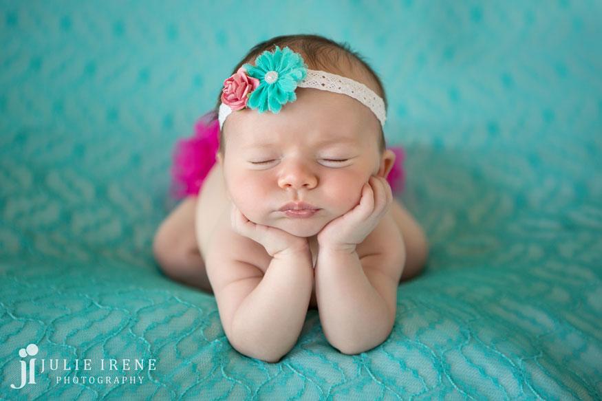 3 San Clemente Baby Newborn Photo Eva