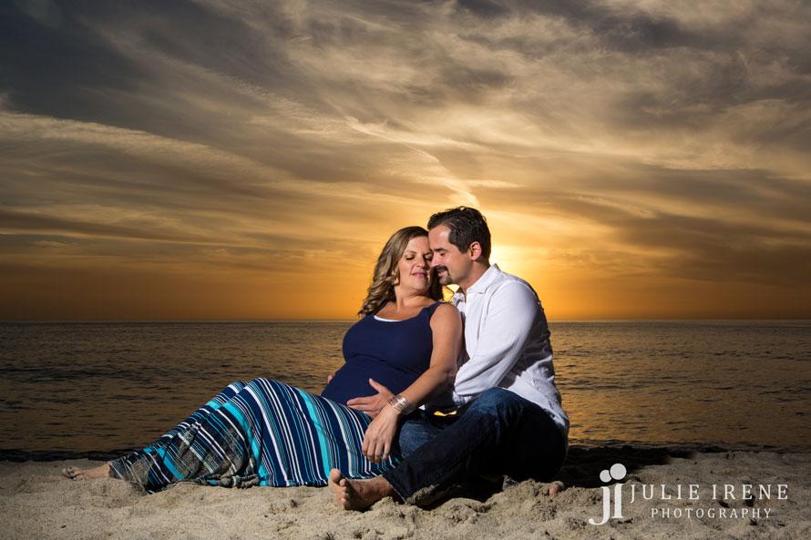 sunset laguna beach maternity kim