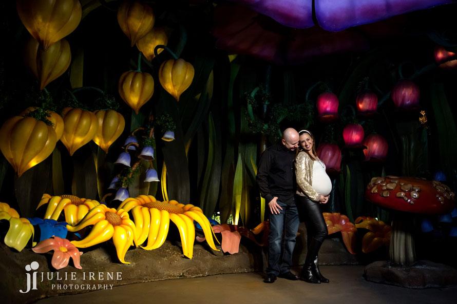 Disneyland Maternity Photography 2