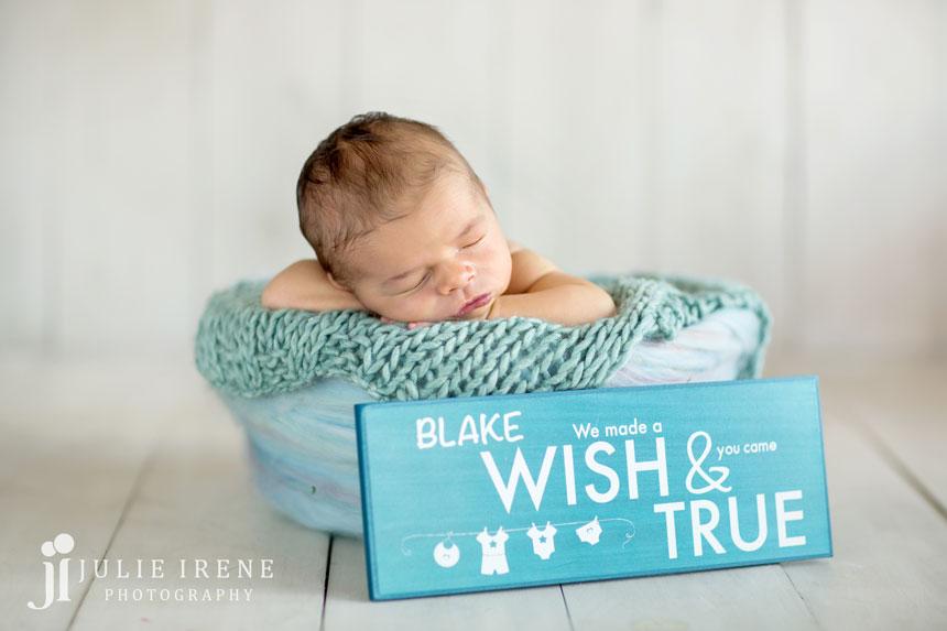 Orange County Infant Photographer San Clemente Blake 1
