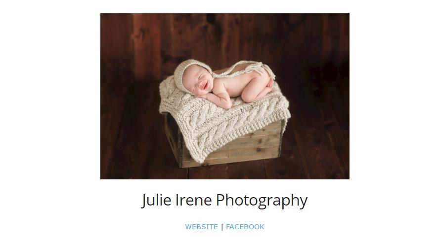 Julie Irene Photography Best Newborn photography